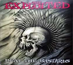 EXPLOITED ''Beat The Bastards'' (1996 Italy press, embossed, CDJUSTX 22, matrix CDUST22 mastered by Mayking, ex-/mint/ex) (digipak) (CD)