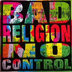 BAD RELIGION ''No Control'' (1989 RI 2004 Holland press, 6702-2, near mint/mint) (CD)