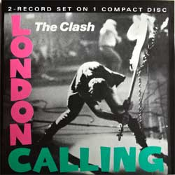 CLASH ''London Calling'' (1979 RI 1991 Austria press, COL 460114 2, ex+/mint) (CD)