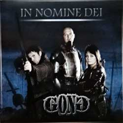 G.O.N.G. ''In Nomine Dei'' (2008 Russian press, matrix M-08-0001636, mint/mint) (CD)