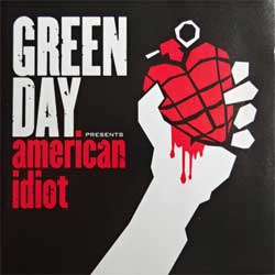 GREEN DAY ''American Idiot'' (2004 EU press, 9362-48777-2, ex-/ex+) (CD)