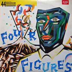 винил LP 44MAGNUM ''Four Figures'' (4-track 12'') (1985 Japan press, insert, MOON-18004, near mint/ex)