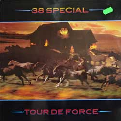 винил LP 38 SPECIAL ''Tour De Force'' (1983 German press, 394 971-1, ex+/ex-)