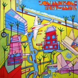 винил LP YES (JON ANDERSON) ''In The City Of Angels'' (1988 Holland press, insert, CBS 460693 1, vg+/ex)