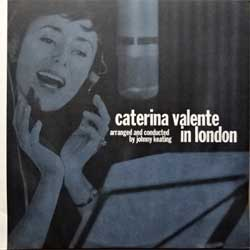 винил LP CATERINA VALENTE ''In London'' (2004 EU press, heavy 180 gr vinyl, 5050467-3686-1-3, vg+/vg+)