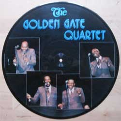 "винил LP GOLDEN GATE QUARTET ""The Golden Gate Quartet"" (picture-disc) (1981 German press, ex-)"