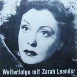 "винил LP ZARAH LEANDER ""Welterfolge mit Zarah Leander"" (1983 Switzerland press, ex-/ex-)"
