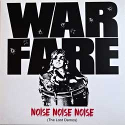 винил LP WARFARE ''Noise Noise Noise (The Lost Demos)'' (2015 German press, insert, HRR 444, mint/mint, new)