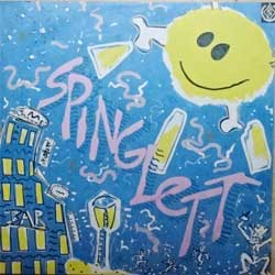 винил LP SPINGLETT ''Spinglett'' (1991 Russian RARE press, ME 1837-8, mint/mint)