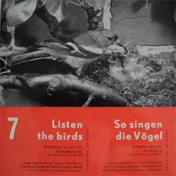 винил LP Listen The Birds (So singen die Vogel)-7 (11 tracks 7'') (German press, gatefold, laminated, HDV7-a-b, mint/ex)