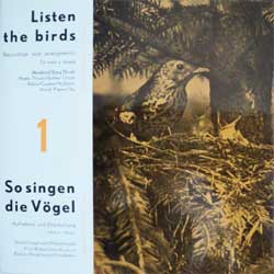 винил LP Listen The Birds (So singen die Vogel)-1 (8 tracks 7'') (German press, gatefold, laminated, EPHT1-2, mint/ex+)