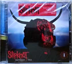 SLIPKNOT ''Antennas To Hell'' (2012 EU press, original sticker, RR7637-2, mint/mint, still sealed) (CD)