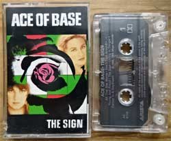 аудиокассета ACE OF BASE ''The Sign'' (1993 Canada press, Dolby, CRC, AC 8740, near mint/mint)  (MC4720)