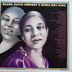 винил LP BESSIE SMITH ''Nobody's Blues But Mine'' (1972 USA press, with rare military stamp, CG 31093, ex-/ex-)
