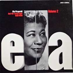 винил LP ELLA FITZGERALD And Her Savoy Eight (1936-1939) ''Ella, Volume 2'' (1974 German press, laminated, PCO 7333, ex/ex-)