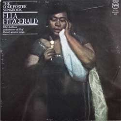 винил LP ELLA FITZGERALD ''The Cole Porter Songbook'' (2LP-gatefold) (1956 RI 1976 France press, 2610 033, ex/ex-/ex)