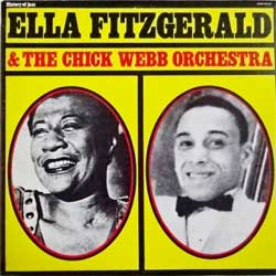 винил LP ELLA FITZGERALD ''Ella Fitzgerald & The Chick Webb Orchestra (History Of Jazz Serie)'' (1974 Italy press, SM 3613, mint/ex+)