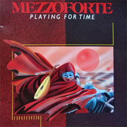 MEZZOFORTE ''Playing For Time'' (1989 German press, PD 74056, matrix PD 74056 2898 638 01/MADE IN W.GERMANY BY PDO, near mint/mint) (CD)