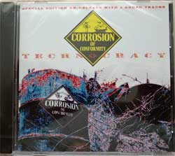 CORROSION OF CONFORMITY ''Technocracy'' (1987 RI 2015 EU press, special edition re-release with 4 added tracks, 3984-17019-2, new, sealed) (CD)