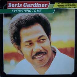 винил LP BORIS GARDINER ''Everything To Me'' (1986 EEC press, ex/ex)