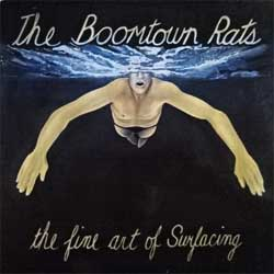 винил LP BOOMTOWN RATS ''The Fine Art Of Surfacing'' (1979 German press, insert, laminated, 6310 960, vg+/ex-)