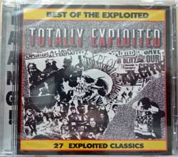 EXPLOITED ''Best Of/Totally Expoloited'' (1984 RI 2001 USA press, TAANG 155, new, sealed) (CD)