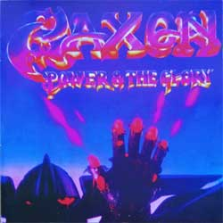 SAXON ''Power And The Glory'' (RARE limited edition press) (CD)