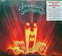 CHRONICAL DIARRHOEA ''The Last Judgement/Salomo Says'' (1991/1988 RI 2008 EU press, limited numbered edition 0593/2000, bonus-tracks, original sticker, MASS CD 1199 DG, new, sealed) (digipak) (CD)