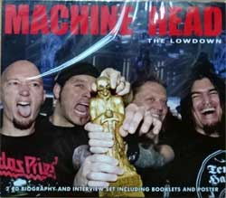 MACHINE HEAD ''The Lowdown'' (2xCD-box) (2011 UK RARE press, booklettes, poster, cardboard box over jewel-box, SXYCD085, new, sealed) (CD)