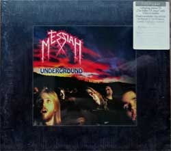MESSIAH ''Underground'' (1994 RI 2010 German press, bonus-tracks, original sticker, MAS CD0699, new, sealed) (digipak) (2xCD)