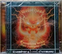 MOTORHEAD ''Everything Louder Thab Everyone Else (Hamburg 1998 Germany)'' (1999 German press, SPV 087-21142 DCD, new, sealed) (2xCD)