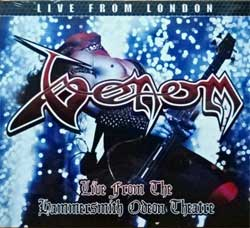 VENOM ''Live From The Hammersmith Odeon Theatre'' (2017 UK press, SFMCD323, new, sealed) (digipak) (CD)
