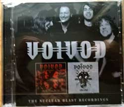 VOIVOD ''The Nuclear Blast Recordings (Katorz & Infini)'' (2006/2009 RI 2018 UK press, DISS0124CD, new, sealed) (2xCD)