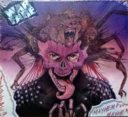 WARFARE ''Mayhem Fuckin' Mayhem'' (1986 RI 2018 UK press, DISS088CDD, new, sealed) (digipak) (CD)