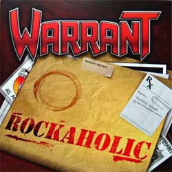 WARRANT ''Rockaholic'' (2011 Italy press, FR CD 514, matrix ||96377 FR CD 514||, vg+/mint) (CD)