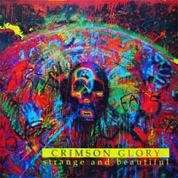 CRIMSON GLORY ''Strange And Beautiful'' (1991 German press, RR 9301 2, matrix Sonopress F-3296/RRPROMO 042 A1, ex/ex) (CD)