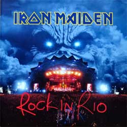 IRON MAIDEN ''Rock In Rio'' (2002 Holland press, 724353864309, Mediamotion 5386449 @ 3 3-1-1-NL, EMI Uden 5386450 @ 1 010202-NL, mint/near mint/mint) (2xCD)