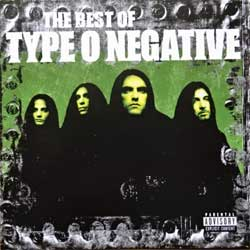 TYPE O NEGATIVE ''The Best Of Type O Negative (The Roots Of Roadrunner Records Serie)'' (2006 RI 2010EU press, RR 8036-2, matrix 168618036-2 V01 AFL, ex/mint) (CD)