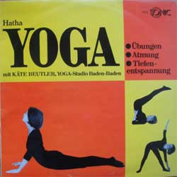 винил LP HATHA YOGA mit KATE BEUTLER, YOGA-Studio Baden-Baden (German RARE press, insert, ex/ex)