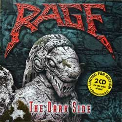 RAGE ''The Dark Side (Black In Mind & End Of All Days)'' (1995/1996 RI 2002 EU press, limited fan edition on 2 CDs with 4 bonustracks, 74321955862/GUN 198, matrixes sonopress K-5848/74321274992 02, R-3489/74321390362 05, ex-/mint) (2xCD)