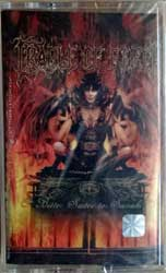аудиокассета CRADLE OF FILTH ''Bitter Suites To Succubi'' (2001 Russian press, FO71MC, mint/mint, still sealed) (MC4836)