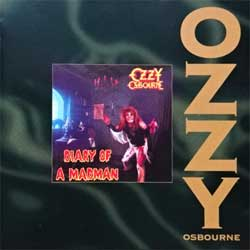 OZZY OSBOURNE ''Diary Of A Madman'' (1981 RI 1995 Austria press, 4816772, matrix Sony Music S0248167710-0101 14 A1, ex/mint) (CD)
