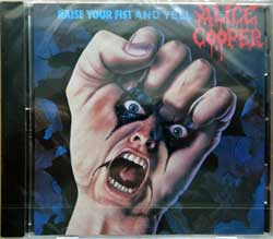 ALICE COOPER ''Raise Your Fist And Yell'' (1987 RI EU press, MCD 03392/DMCF 3392/813 392-2, new, sealed) (CD)