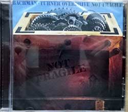 BACHMAN-TURNER OVERDRIVE ''Not Fragile'' (1973 RI EU press, 830 178-2/042283017825, new, sealed) (CD)