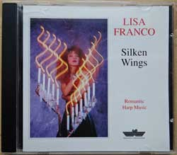 INNOVATIVE COMMUNICATION: LISA FRANCO ''Silken Wings'' (1994 German press, IC 2223-2, mint/mint)(CD)