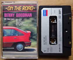аудиокассета BENNY GOODMAN ''All That Jazz (On The Road Series)'' (1986 Holland press, Chromium Dioxide 120, 820 406-4, mint/mint) (MC2292)
