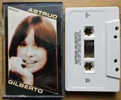 аудиокассета ASTRUD GILBERTO ''Astrud Gilberto: Great Artsists Series'' (1983 USA press, Dolby, GAS 737, near mint/near mint) (MC2296)
