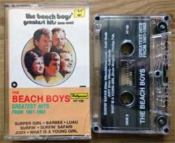 аудиокассета BEACH BOYS ''Greatest Hits From 1961-1963'' (1972 RI 1987 USA press, HT-109, mint/mint) (MC2303) (D)