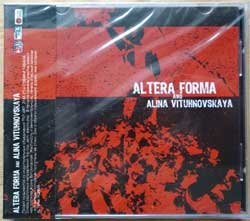 ALTERA FORMA and ALINA VITUHNOVSKAYA ''Alter Forma And Alina Vituhnovskaya'' (2004 Russian press, obi, mint/mint, still sealed) (CD) (D)