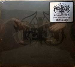 MARDUK ''Dark Endless'' (1992 RI 2005 Sweden press, remastered, original sticker, BLOD024DG, new, sealed) (digipak) (CD)